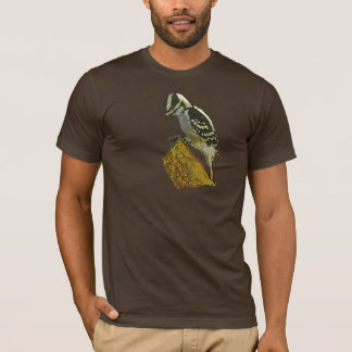 Downey Woodpecker Pic T-Shirt