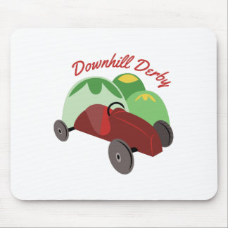 Downhill Derby Mouse Pads