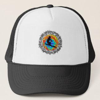 Downhill Edge Trucker Hat