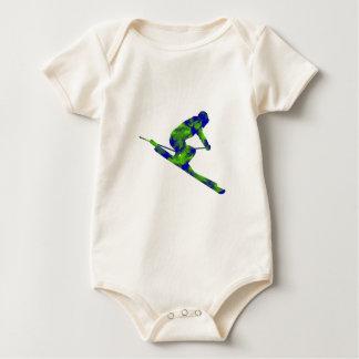 Downhill Escape Baby Bodysuit