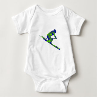 Downhill Escape Baby Bodysuit
