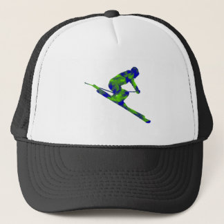 Downhill Escape Trucker Hat