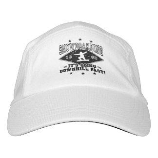 DOWNHILL FAST! (blk) Hat