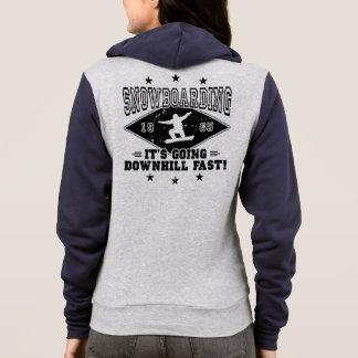 DOWNHILL FAST! (blk) Hoodie