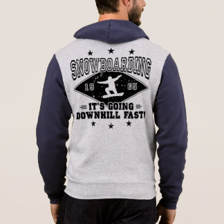 DOWNHILL FAST! (blk) Hoodie
