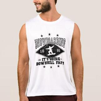 DOWNHILL FAST! (blk) Tank Top