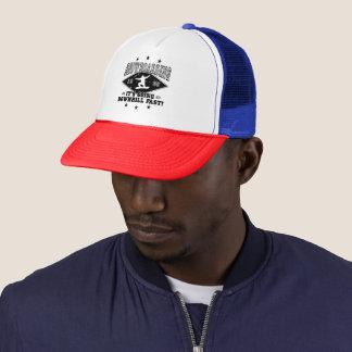 DOWNHILL FAST! (blk) Trucker Hat