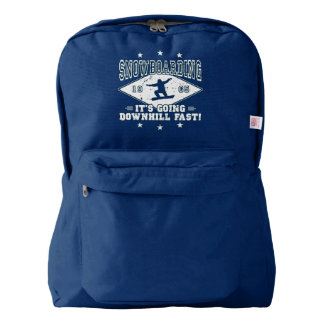 DOWNHILL FAST! (wht) Backpack