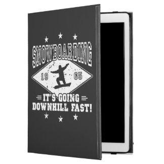"DOWNHILL FAST! (wht) iPad Pro 12.9"" Case"