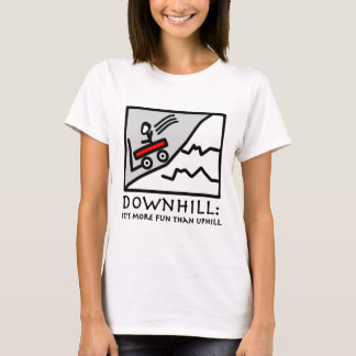 Downhill Thrill Wagon T-Shirt