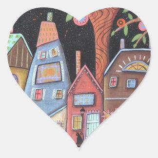 DownHome Heart Sticker