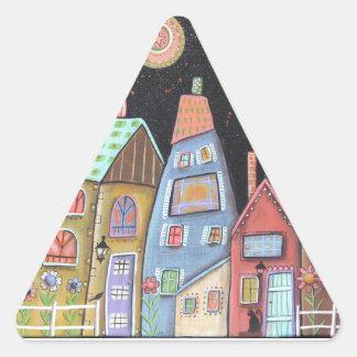 DownHome Triangle Sticker