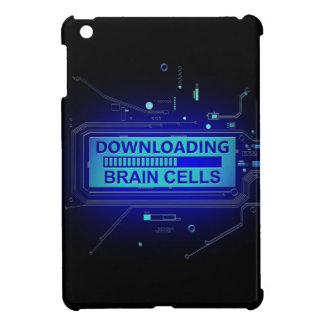 Downloading brain cells. iPad mini cases