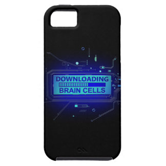 Downloading brain cells. iPhone 5 cases