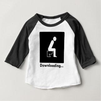 Downloading Poop Baby T-Shirt