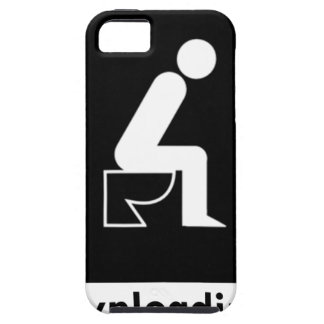 Downloading Poop iPhone 5 Case