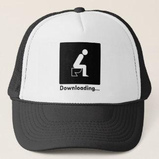 Downloading Poop Trucker Hat