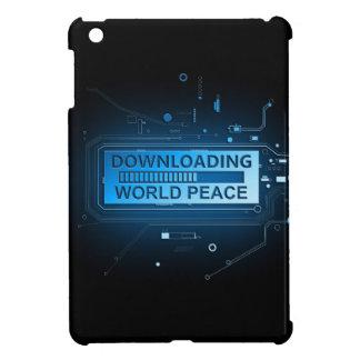 Downloading world peace. iPad mini covers