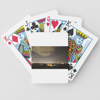 Downriver Skyline Bicycle Playing Cards