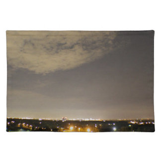 Downriver Skyline Placemat