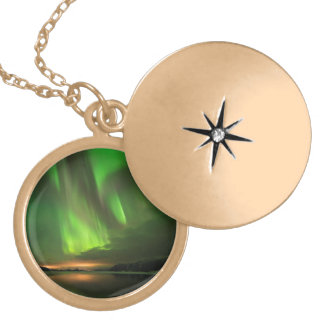 Downstream Aurora Gold Plated Necklace