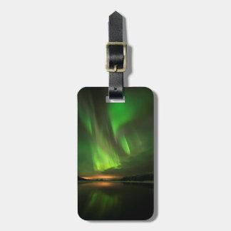 Downstream Aurora Luggage Tag