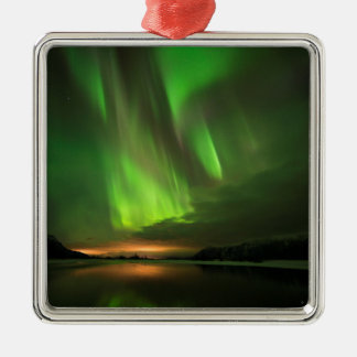 Downstream Aurora Metal Ornament