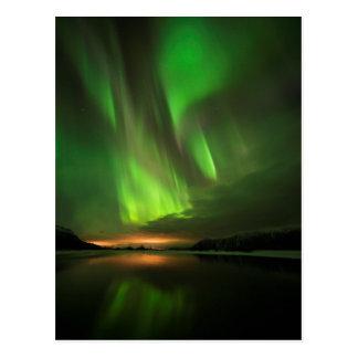 Downstream Aurora Postcard