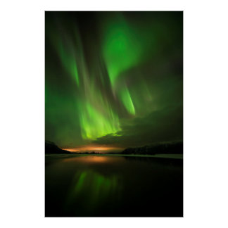 Downstream Aurora Poster