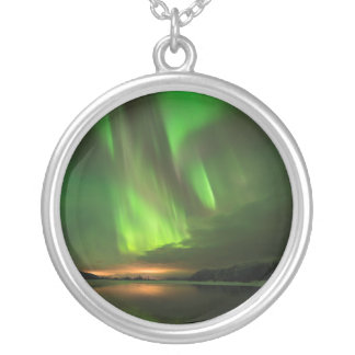 Downstream Aurora Silver Plated Necklace