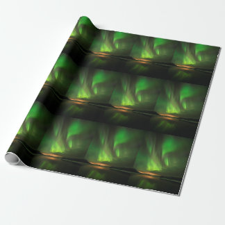 Downstream Aurora Wrapping Paper