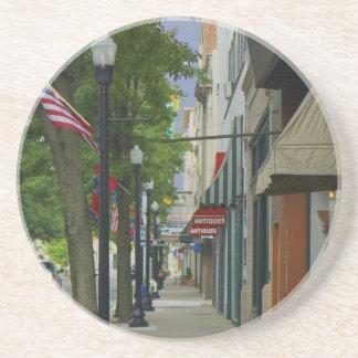 Downtown Bristol - Tennessee sidewalk Coaster