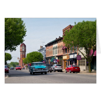 Downtown Chelsea, Michigan Card