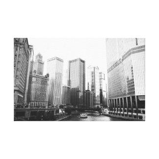 Downtown Chicago Architecture Canvas Print