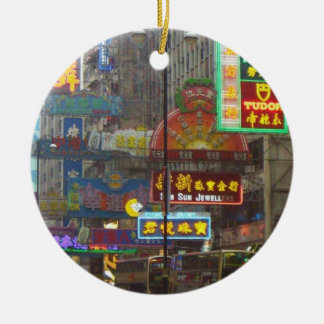 Downtown China Ornament
