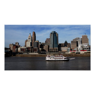 Downtown Cincinnati Poster