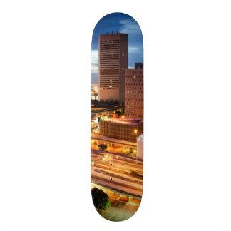 Downtown City View Skate Board Decks