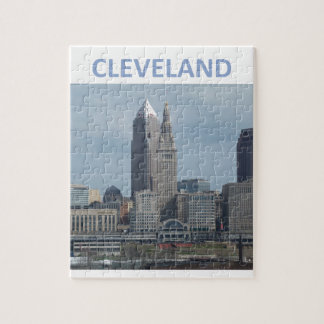 Downtown Cleveland Jigsaw Puzzle