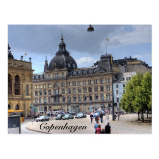 Downtown Copenhagen Postcard