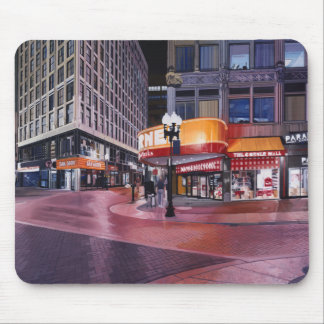 Downtown Crossing Boston Mouse Pad