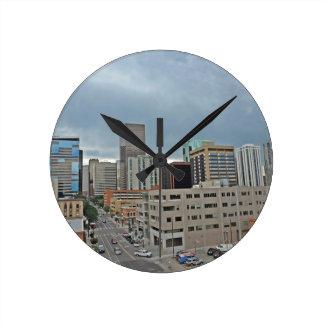 Downtown Denver Colorado Skyline Clock