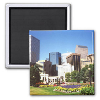 Downtown Denver Souvenir Magnet