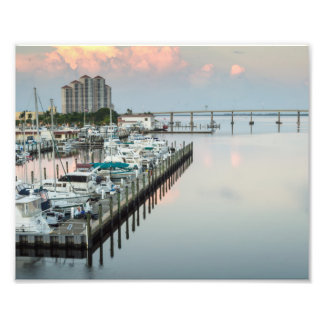 Downtown Fort Myers Florida at Sunrise Photo