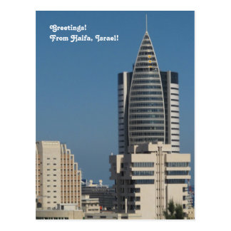 Downtown Haifa Photograph Postcard