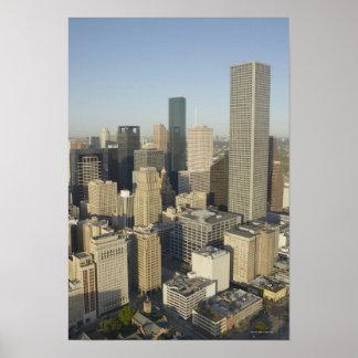 Downtown Houston Poster