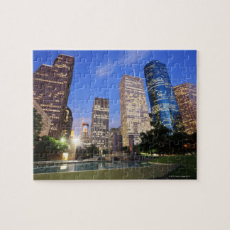 Downtown Houston, Texas Jigsaw Puzzle