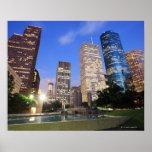 Downtown Houston, Texas Poster