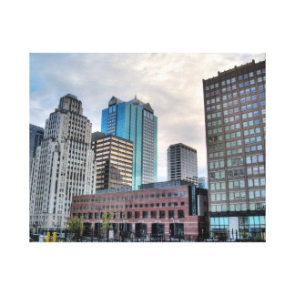 Downtown Kansas City Canvas Print