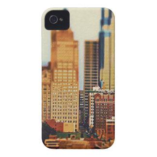 Downtown Kansas City Tilt-Shift, Paint Effect iPhone 4 Cover