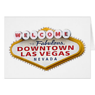 Downtown Las Vegas  Your Invited Cards